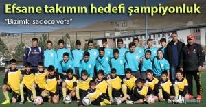 Bayburtspor'da hedef şampiyonluk