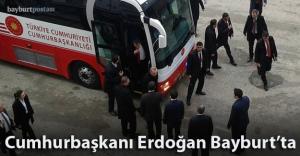 Cumhurbaşkanı Erdoğan Bayburt#039;ta