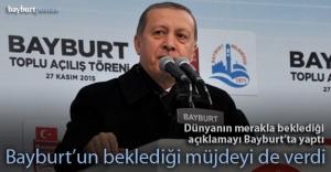 Cumhurbaşkanı Erdoğan Bayburt#039;ta...