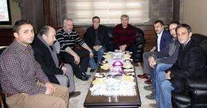 Kavcıoğlu'ndan Bayburt Belediyesi'ne ziyaret