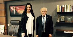 Odabaş'tan milletvekili Karaaslan'a ziyaret