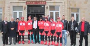 Sarıkamış Şehitlerini Anma Bisiklet Turu Bayburt'ta