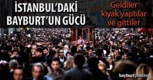 İstanbul'daki Bayburt geldi, gitti