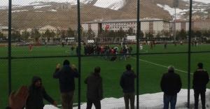 Konursuspor maçında olaylar çıktı