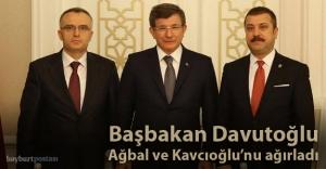 Başbakan Davutoğlu, Bayburt'un sorunlarını dinledi