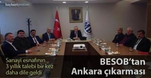 BESOB'tan Ankara çıkarması