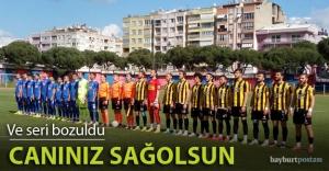 Galibiyet serisi İzmir'de bozuldu