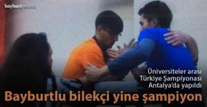 Yıldızoğlu, yine Türkiye Şampiyonu