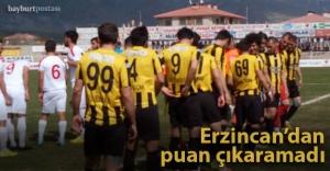 Bayburt Grup, Erzincan'dan puansız dönüyor