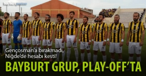 Bayburt Grup, play-off#039;ta