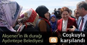 Meral Akşener, Bayburt#039;ta