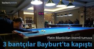 'Platin Bilardo'dan önemli turnuva