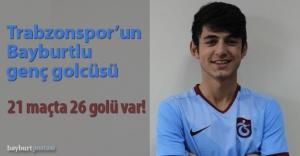 Trabzonpor'un Bayburtlu golcüsü: Sertan İrkilmez