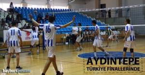 'Aydıntepe Gençler' Türkiye finallerinde