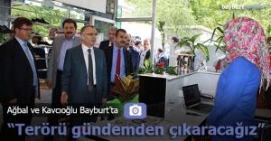 """Ağbal: """"Terörü Türkiye'nin gündeminden çıkaracağız"""""""
