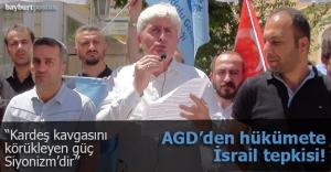 AGD'den İsrail anlaşmasına tepki!