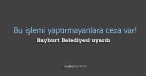 Bayburt Belediyesi#039;nden #039;altyapı#039;...