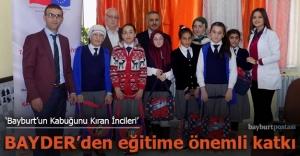 BAYDER'den kız çocuklarının eğitimine önemli katkı
