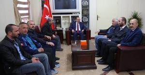 BGC'den Vali Ustaoğlu'na ziyaret