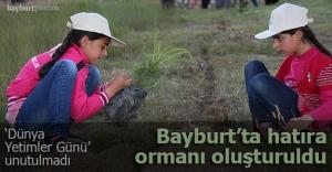 Şehit Osman'a 'Yetimler Hatıra Ormanı'