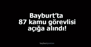 4#039;ü tutuklu 87 kamu görevlisi...