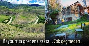 Bayburt'un 'gözden uzak' görkemli manzaraları