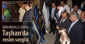 Taşhan'da resim sergisi açıldı