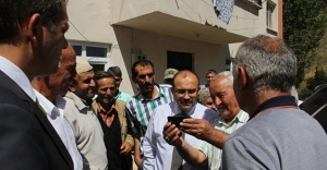 Vali Ustaoğlu, Yoncalı Köyü'nde