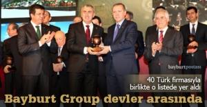 Bayburt Group, devler listesinde