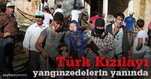 Türk Kızılayı Gençosman Köyü'nde
