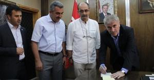Başkan Memiş'ten Türk Kızılayı'na Kurban Bağışı