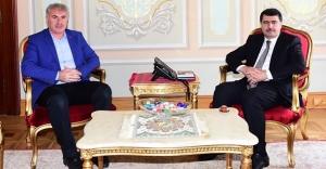 Başkan Memiş'ten Vali Şahin'e ziyaret