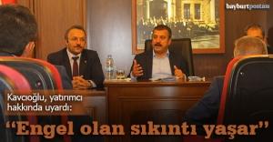 """Kavcıoğlu: """"Yatırımcıya kırmızı halı sereceğiz"""""""