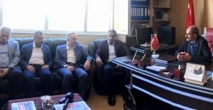 Maliye Bakanı Ağbal'dan MHP'ye bayram ziyareti