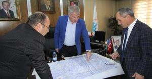 Mehmet Geldi'den Bayburt Belediyesi'ne ziyaret