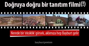 Bayburt'un yeni tanıtım filmi: 'Haydin Bayburt'a Haydi'