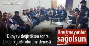 BAYDER, Mustafa Ahıskalıoğlu'nu unutmadı