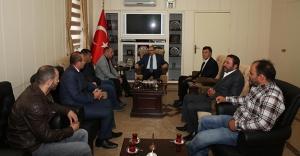 ŞADDER ve TÜGVA'dan Vali Ustaoğlu'na ziyaret