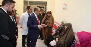 Ustaoğlu'ndan hastane incelemesi