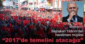 Başbakan Yıldırım#039;dan havalimanı...