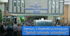 Samsun, Bayburtlu Tuna Yıldız#039;ı...