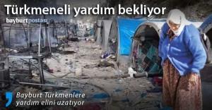 Bayburt'tan Türkmenlere yardım eli uzanacak
