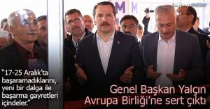 """Yalçın: """"AB, Türkiye'ye mobbing uyguluyor"""""""
