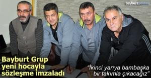 Bayburt Grup, Semih Tokatlı ile sözleşme imzaladı