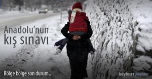 Doğu Karadeniz karla mücadele ediyor