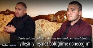 """Gazi Er: """"Terör örgütü bu ülkeyi bölemeyecek"""""""