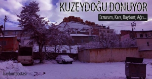 Kuzeydoğu Anadolu donuyor