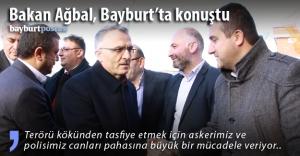 Maliye Bakanı Ağbal Bayburt'ta