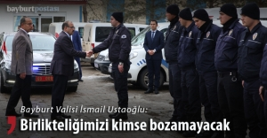 Vali Ustaoğlu'ndan polise anlamlı ziyaret