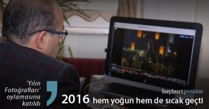 Vali Ustaoğlu yılın fotoğraflarına oy verdi